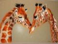 les girafes de claire-pastel